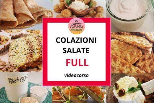 Colazioni salate videocorso full
